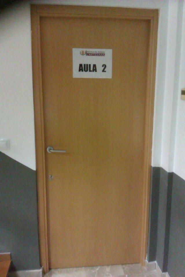 Aula 2 puerta