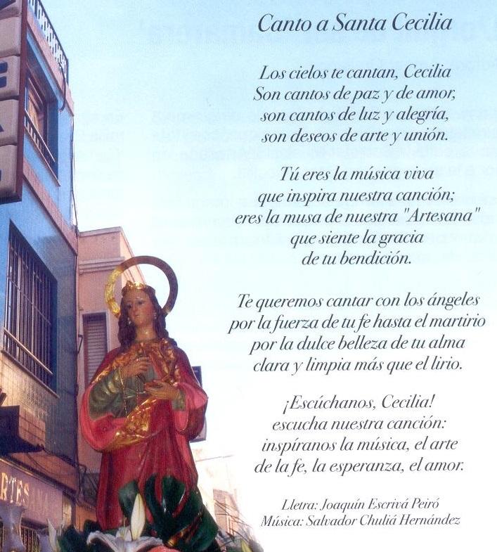 himne santa Cecilia