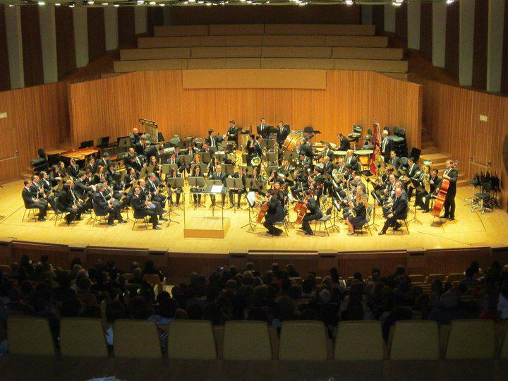 Orquesta Sinfónica al Certamen Provincial de Bandas 2012