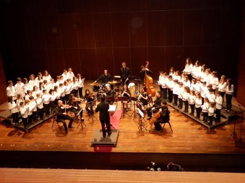 La Coral Antonio Claverol, en el concert benéfic de Manos Unidas, 2013