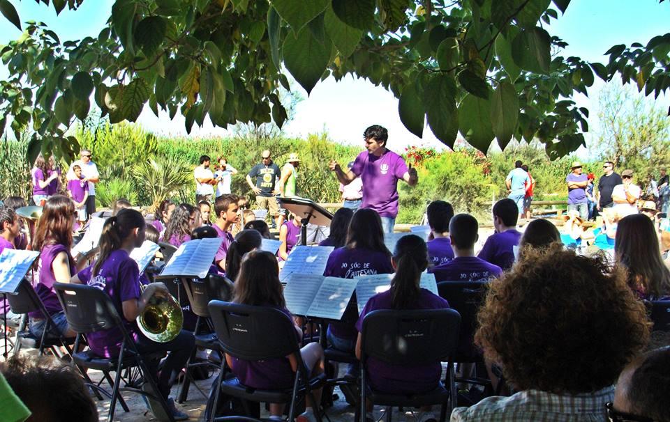 Banda Juvenil L`Artesana, amb Sant Pere
