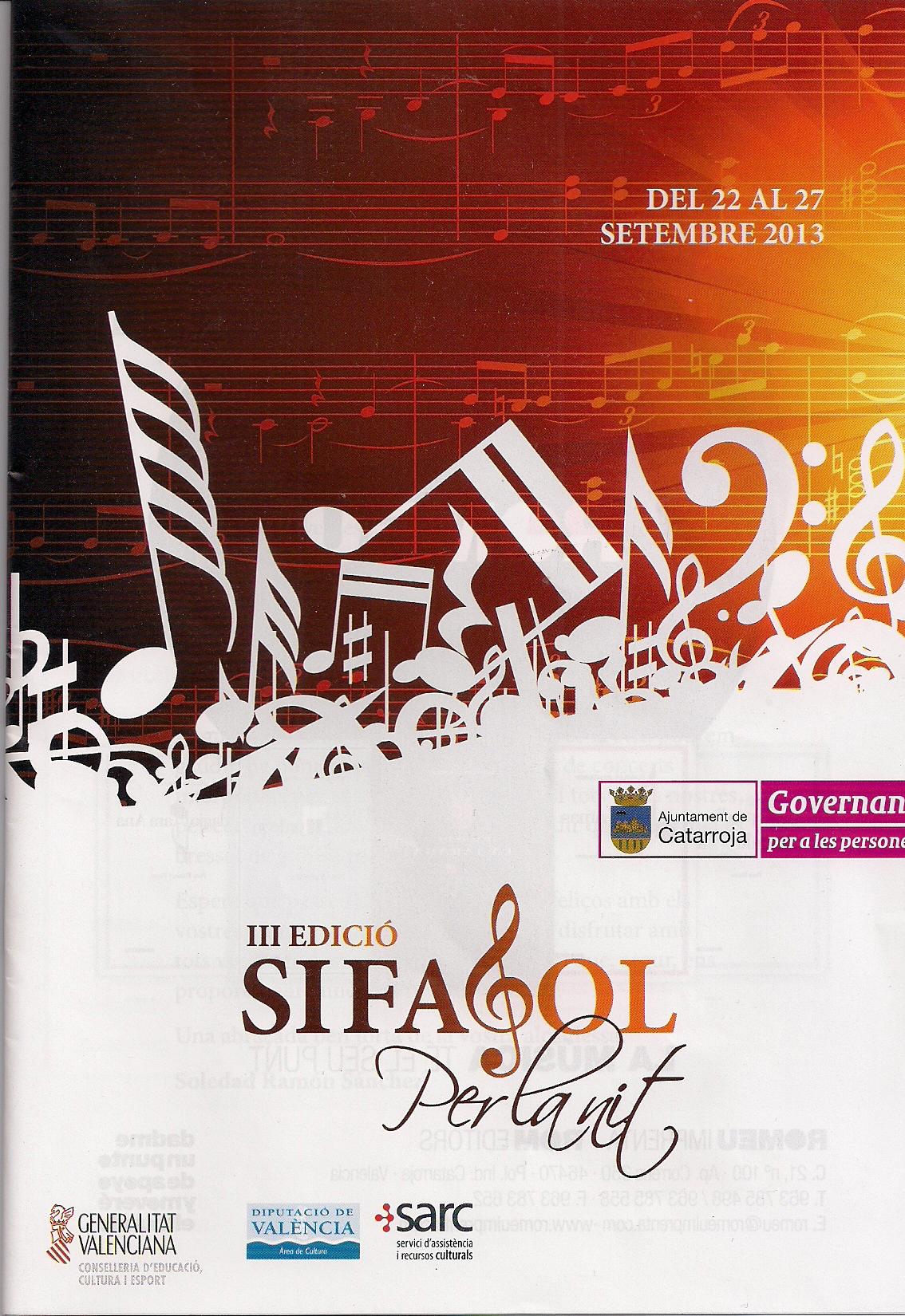 Concert festes de Sant Miquel 2013