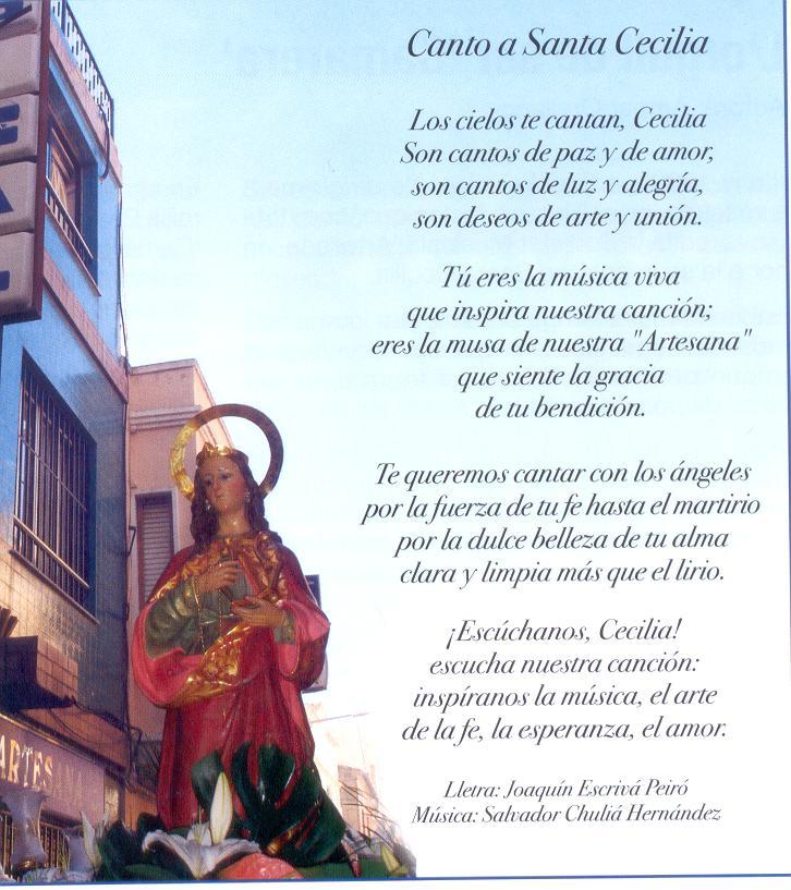 Canto a Santa Cecilia