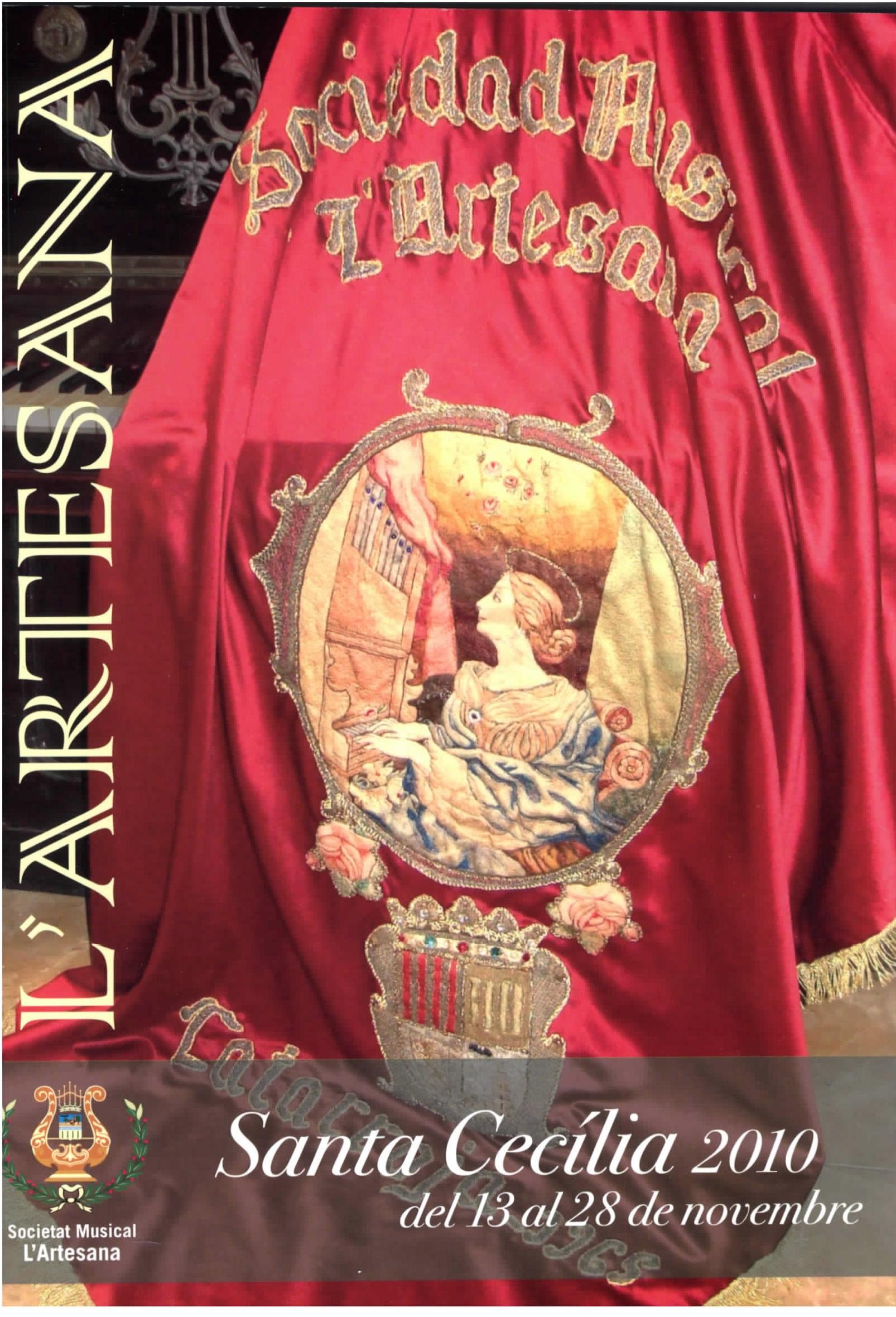 LLIBRET SANTA CECILIA 2010