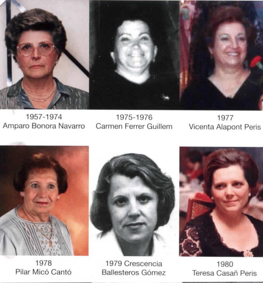 Camareres de 1957 a 1979