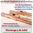 CONCERT PROCLAMACIÓ CAMBRERA I MUSA 2015/2016