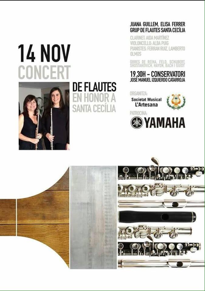 CONCERT FLAUTES SANTA CECILIA 2015