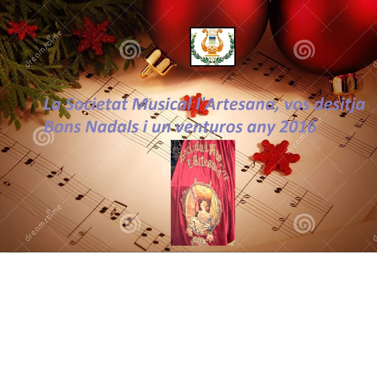 Bon Nadal 20150/2016