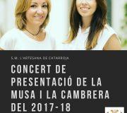 Concert de presentació de la Musa i la Cambrera 17/18