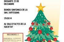 Concert de Nadal de la Banda Simfònica