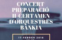 Concert preparació Certamen d'Orquestres