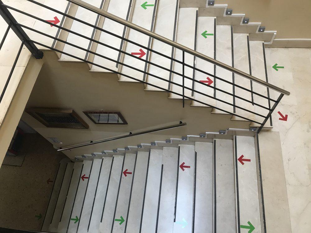 Escalera Plaza Mayor
